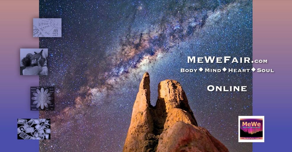 Free Online MeWe/Pop Fair for Energizing Body Mind Heart Soul